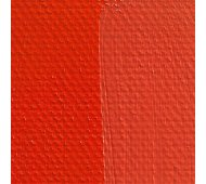 Rublev Colours Orange Molybdate Artist Oil Swatch