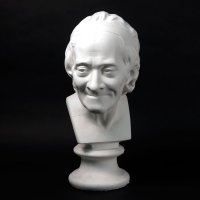 Drawing Plaster Cast of Voltaire