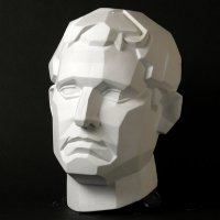 Drawing Plaster Cast Male Face (Planar)