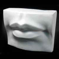 Drawing Plaster Cast Mouth (Giant)