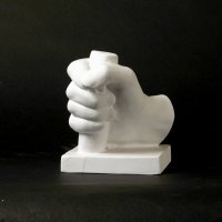 Drawing Plaster Cast Hand